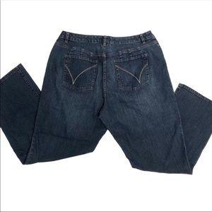 4d5955770c6d5 Venezia Jeans - Plus Size Venezia Jeans Straight Leg 18 20
